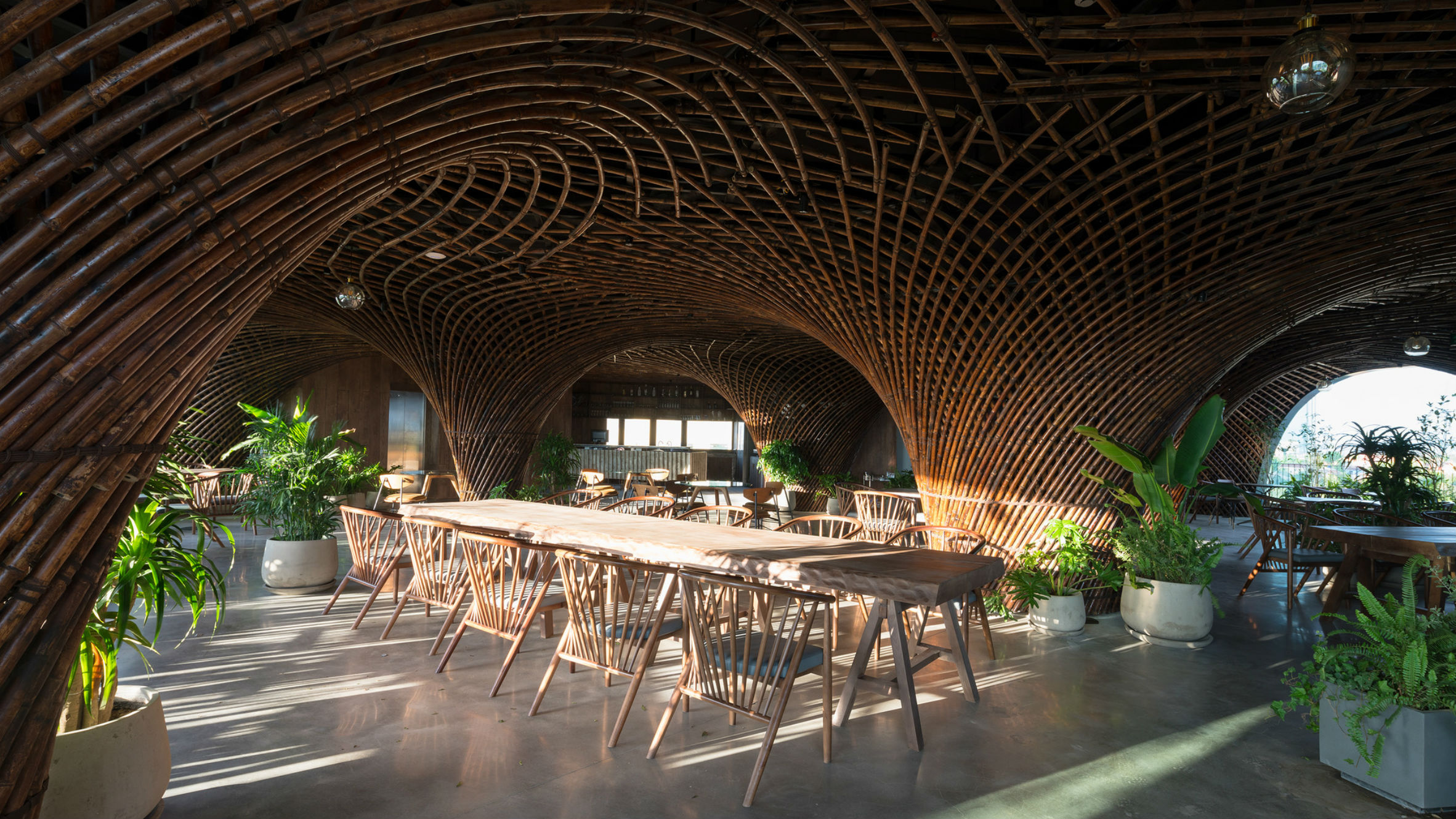 Nocenco Cafe, Nghe Anh, Vietnam, by Vo Trong Nghia Architects