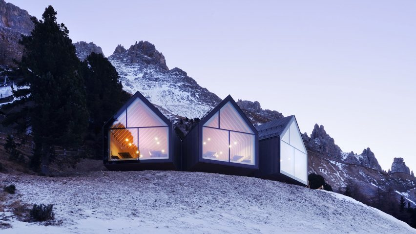 Oberholz Mountain Hut by Peter Pichler Architecture