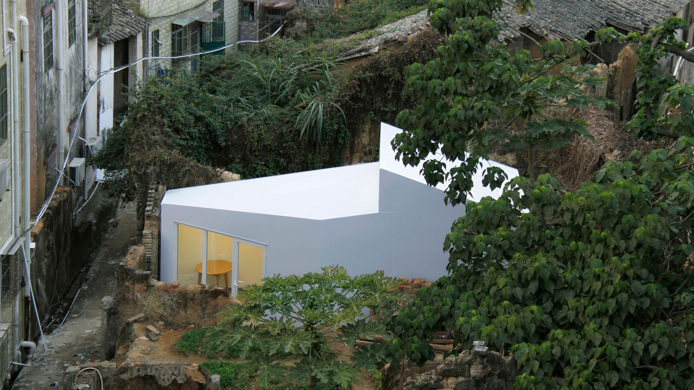 Shangwei Village Plugin Houses, Shenzhen, China, by People's Architecture Office