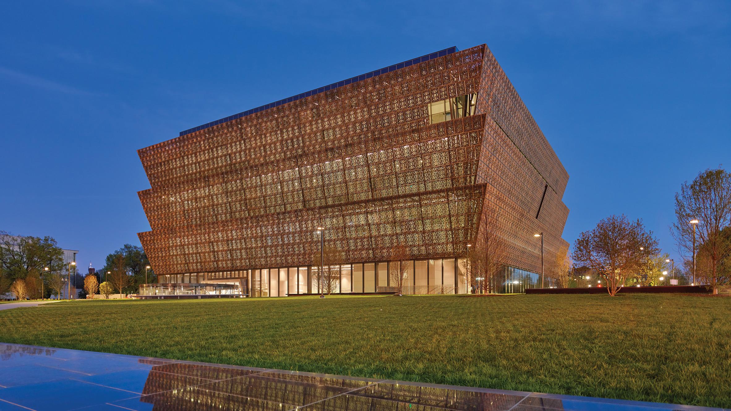 Smithsonian NMAAHC, Washington, USA, by Adjaye Associates