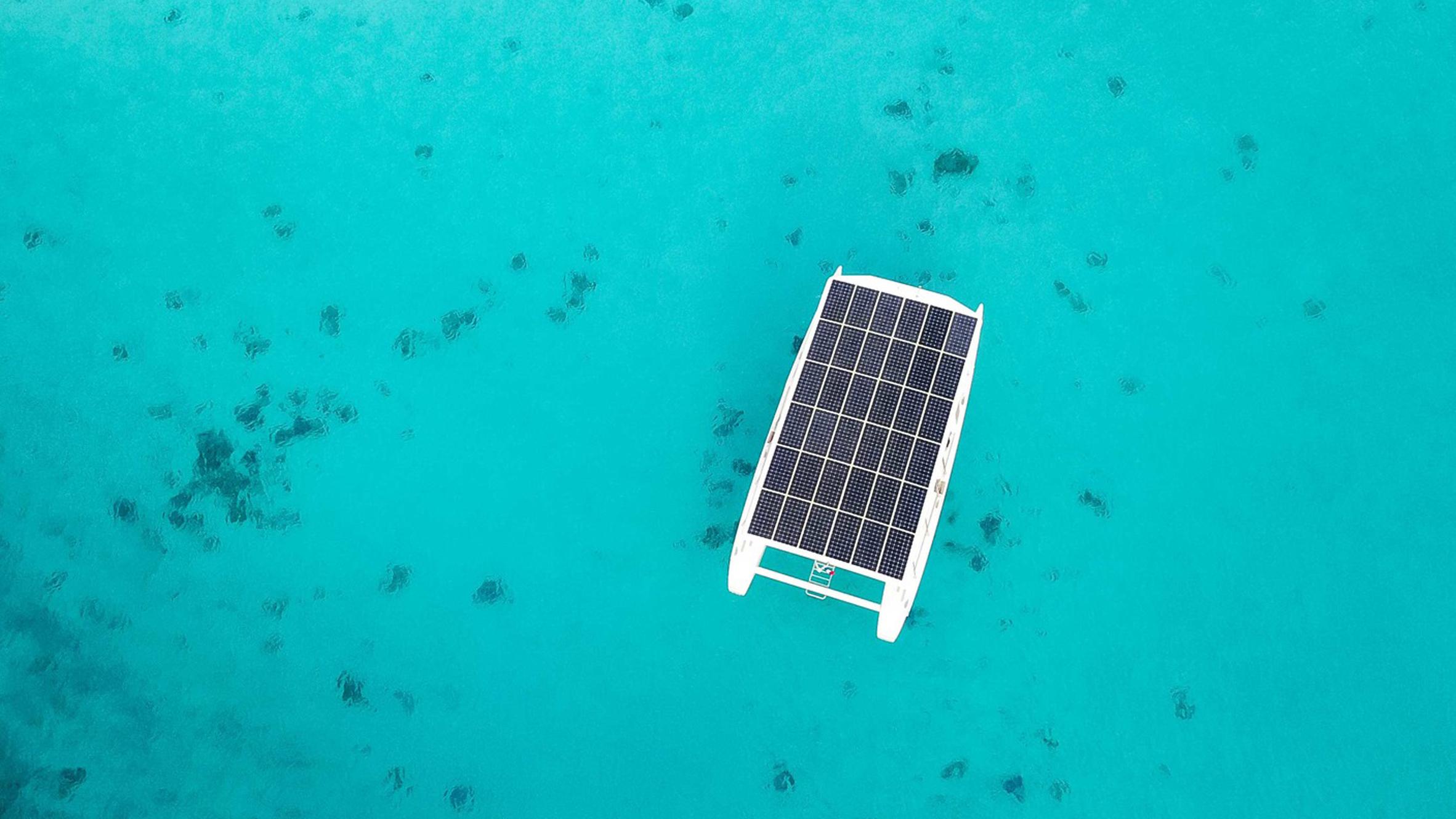 SoelCat 12 Solar Electric Catamaran by Soel Yachts