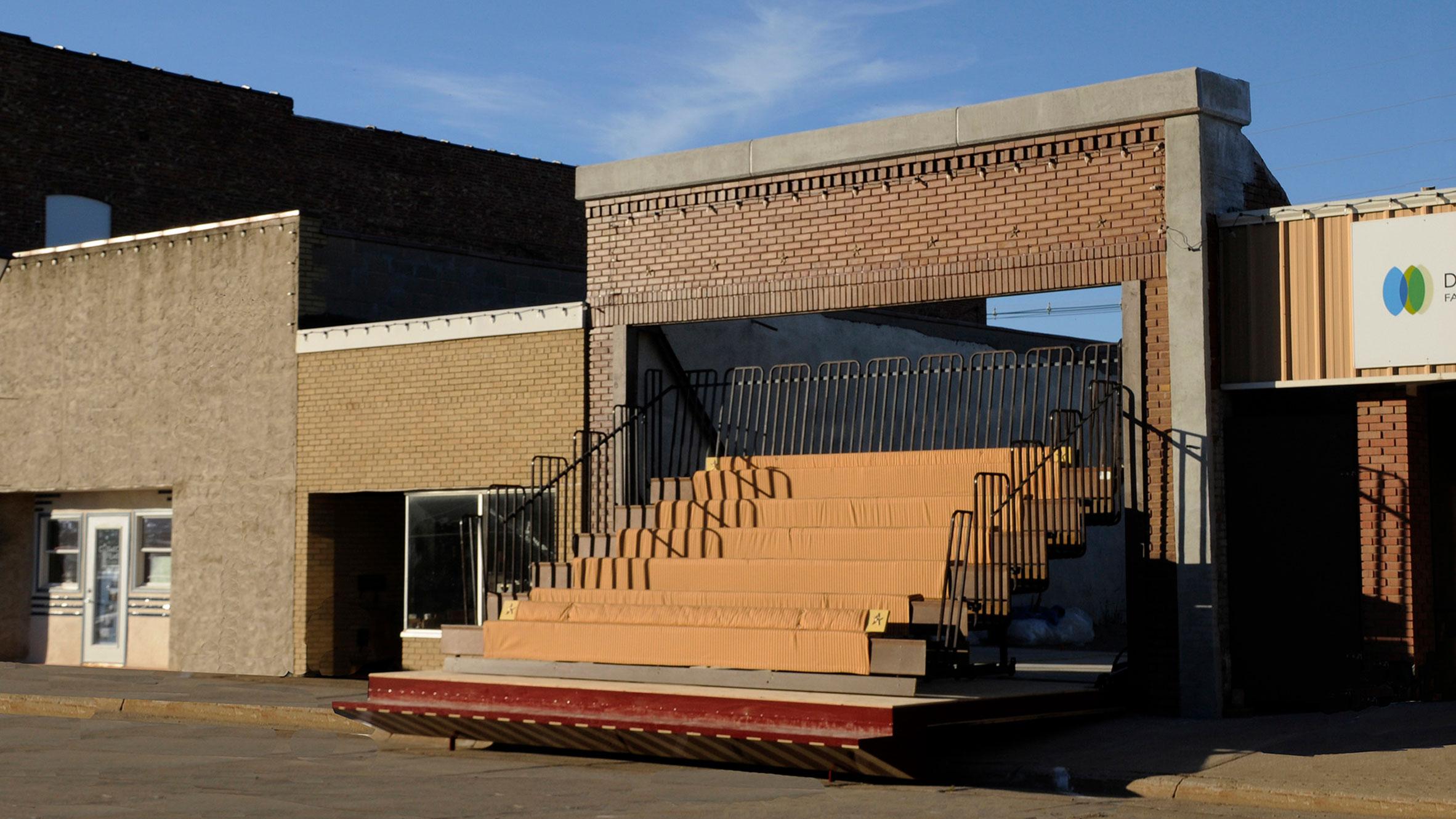 The Storefront Theater, Lyons, USA, by Matthew Mazzotta