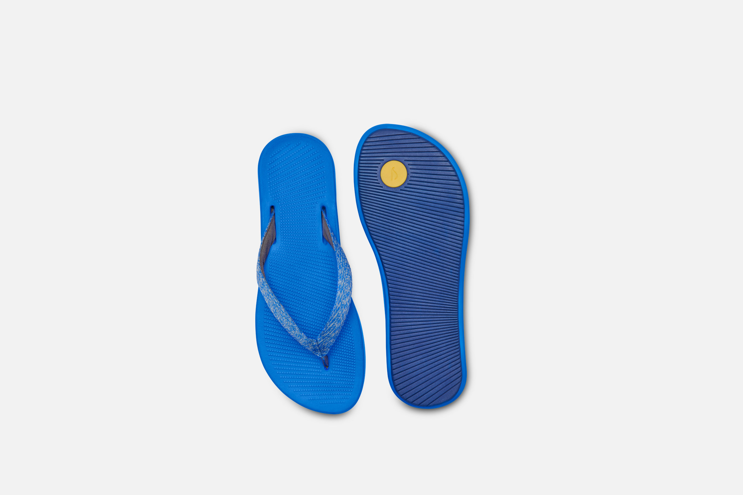 Flip flops with sugar-cane soles
