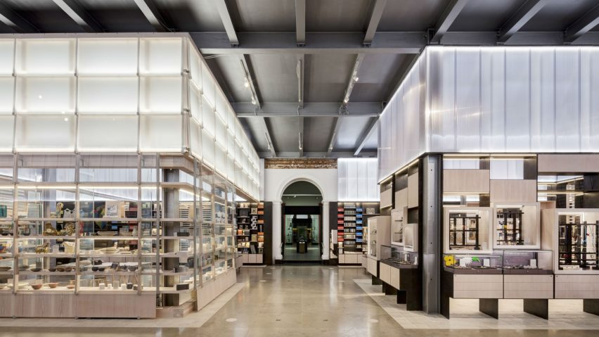 Victoria and Albert Museum Main Shop, London, UK, Friend and Company Architects