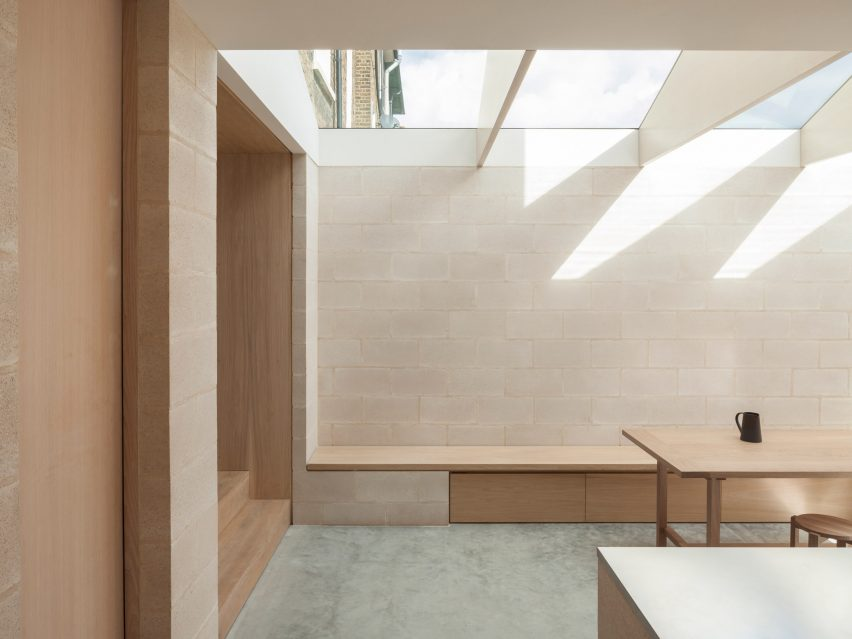 Al-Jawad Pike uses robust and affordable materials for house extension