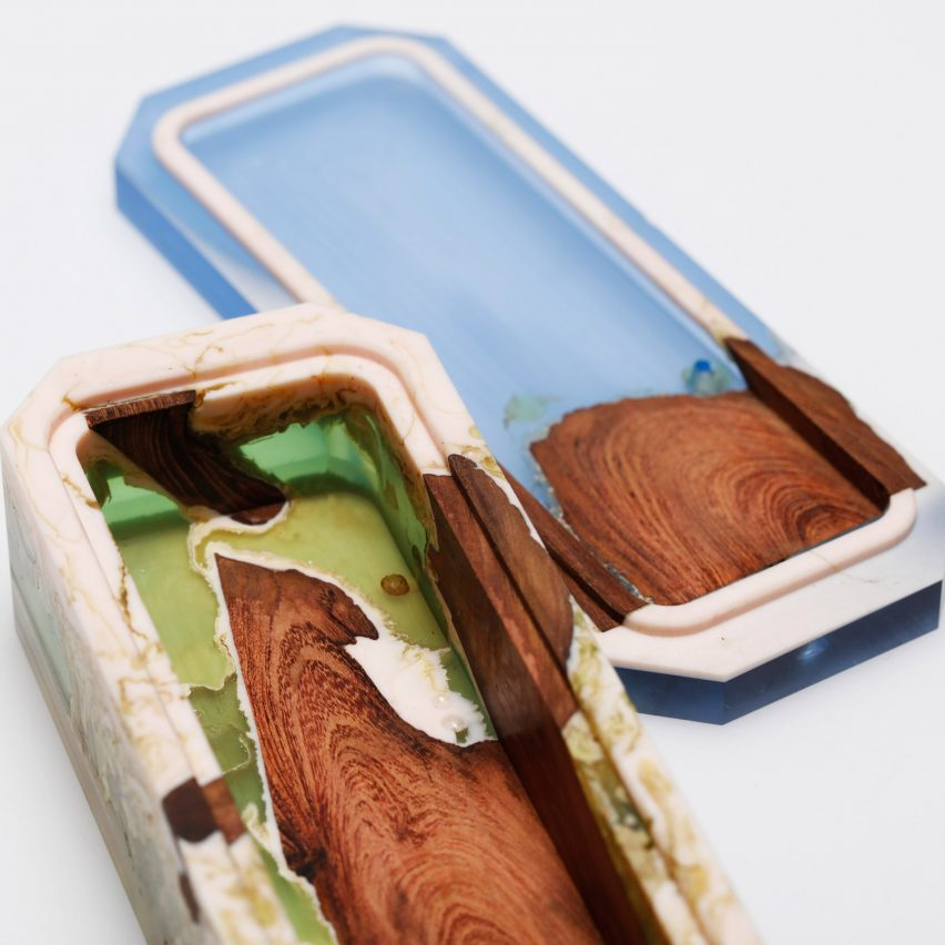Jie Wu seeks to elevate value of plastic with series of miniature boxes