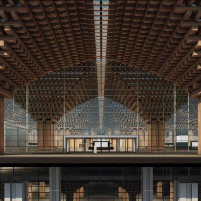 Bangkok airport terminal by DBALP Consortium