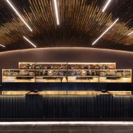 Esrawe completes glossy bar at Mexico City's Auditorio Nacional