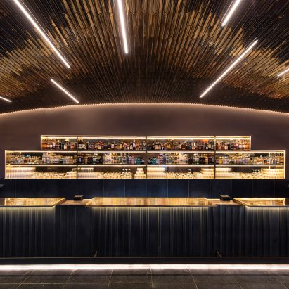 Perfect Esrawe Completes Glossy Bar At Mexico Cityu0027s Auditorio Nacional