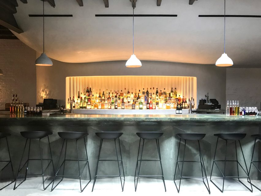 Isaac-Rae hides cave-like cocktail bar behind Williamsburg