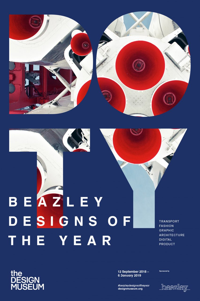 The Design Museum unveils new visual identity for Designs of the Year awards
