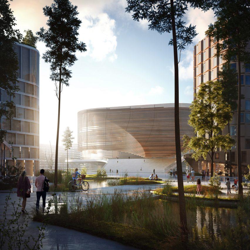 Bergen arena by 3XN