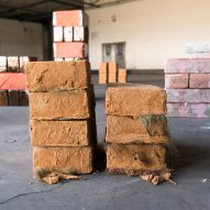 Ellie Birkhead uses human hair and manure to make region-specific bricks