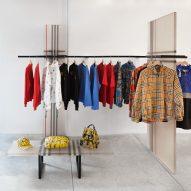 Burberry x OC installation by Sabine Marcelis