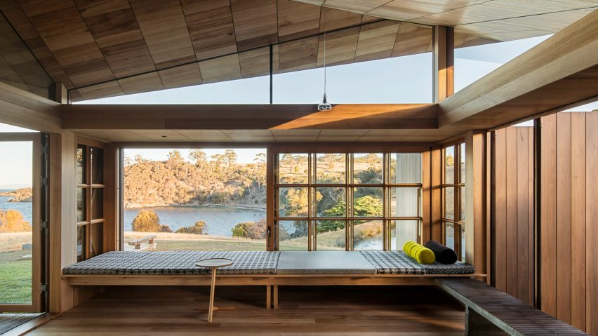 Captain Kelly's Cottage, Bruny Island, Australia, by John Wardle Architects