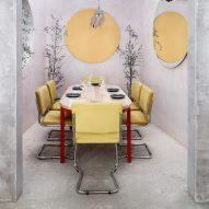 Explore pastel hued interiors via our Pinterest board