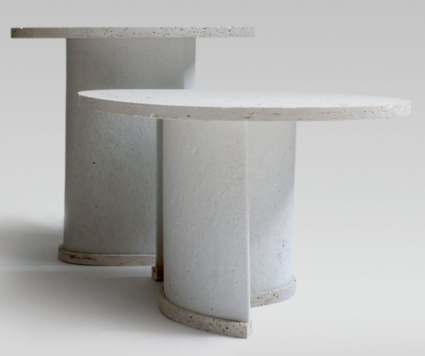 Excellent Charlotte Jonckheer Makes Side Tables From Recycled Paper Uwap Interior Chair Design Uwaporg
