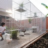 Chicken House by Tropical Space