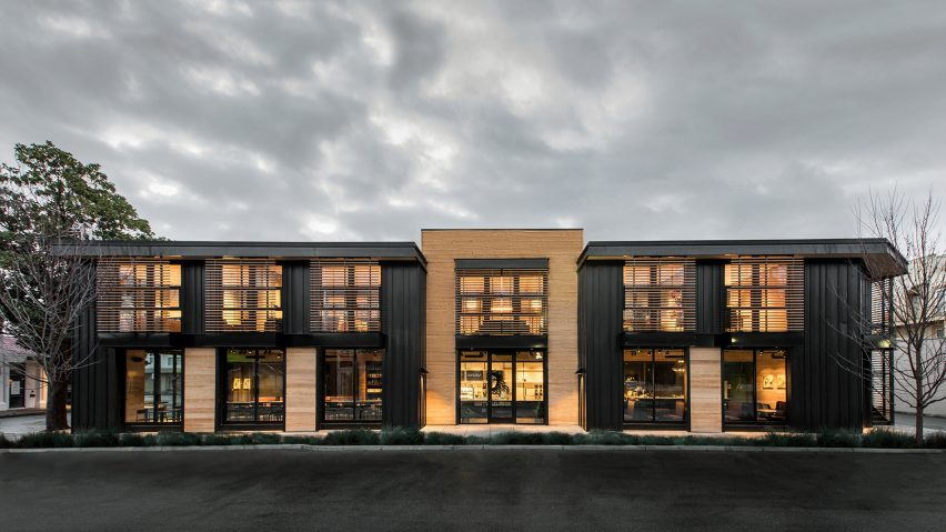 Walker Warner Architects overhauls Silicon Valley building using industrial materials
