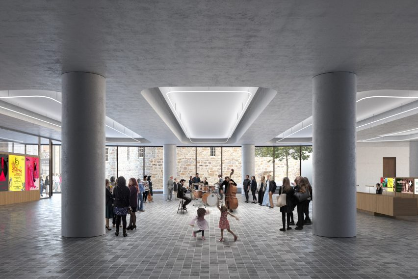 IMPACT Centre in Edinburgh by David Chipperfield Architects