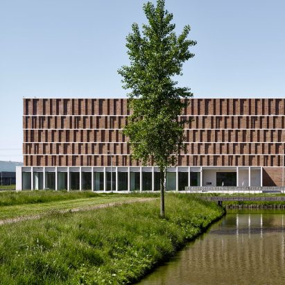 Delft city archive by Office Winhov and Gottlieb Paludan Architects