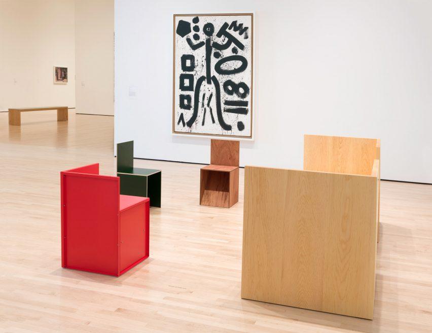 Donald Judd Specific Furniture en SFMOMA