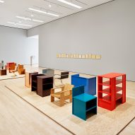 Donald Judd Specific Furniture at SFMOMA