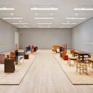 Donald Judd Specific Furniture at SFMOMA