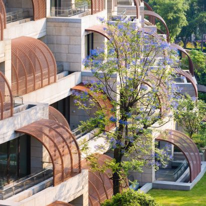 Eling Residences by Safdie Architects