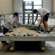 ETH Zurich makes lighter concrete ceiling using 3D sand-printing