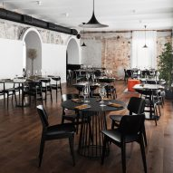 Gastrobar O restaurant combines Russian and Scandinavian style