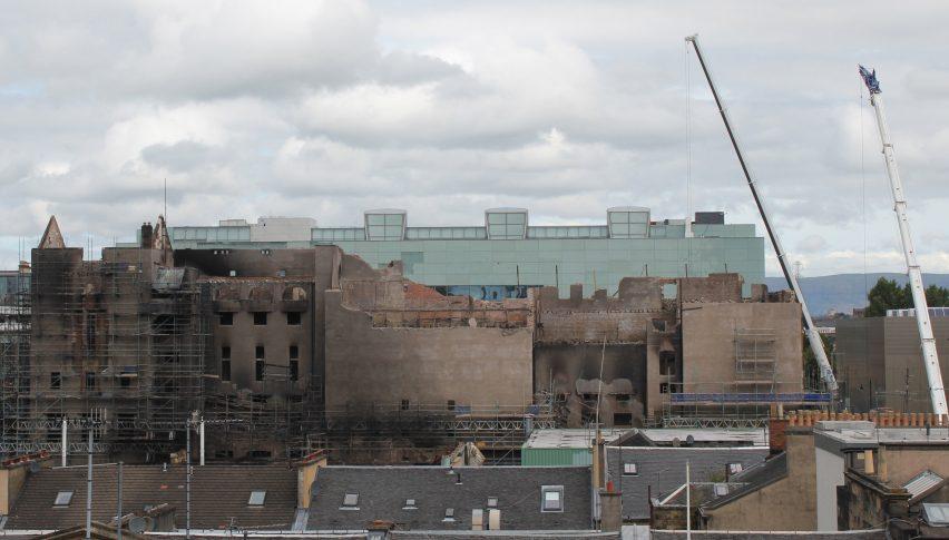 Glasgow School of Art repairs