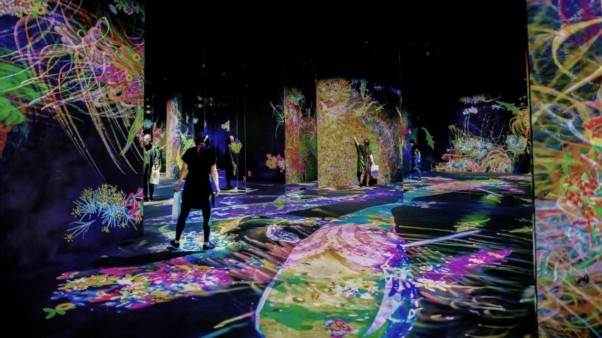Graffiti Nature Lost, Immersed and Reborn by TeamLab