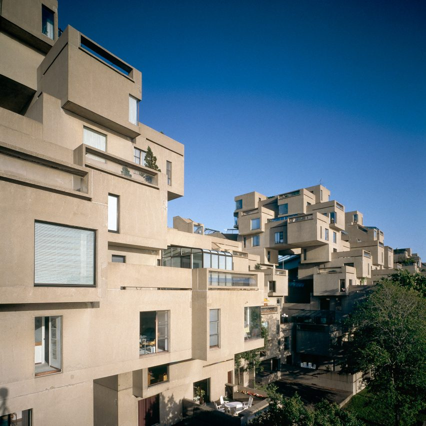 Habitat 67 by Moshe Safdie, Montreal, Canada
