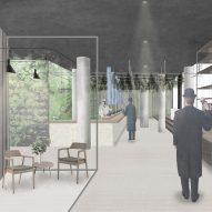 Amy Shao imagines Herbalist Hotel where stressed Londoners can rest