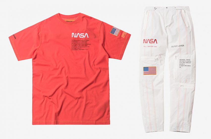 Heron Preston collaborates with NASA on streetwear collection