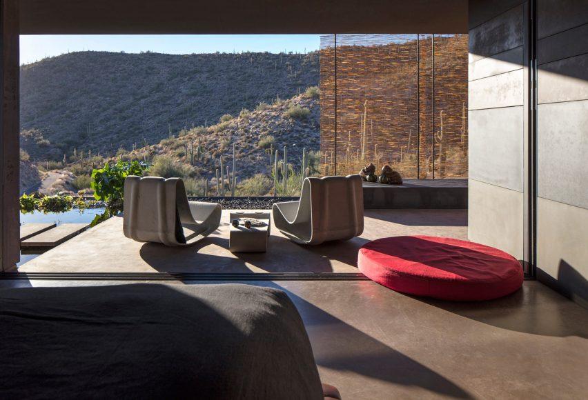 Hidden Valley Desert House by Wendell Burnette