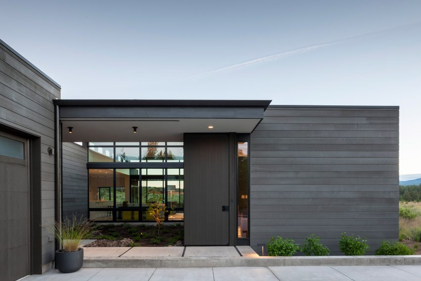 High Desert Modern house is designed to be