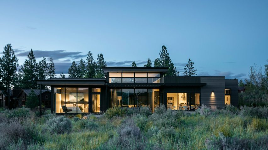 "High Desert Modern house in Oregon is designed to be ""cool, calm and collected"""