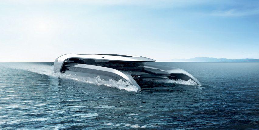 Cas Dahmen Designs Zero Emission Hydrofoil Concept