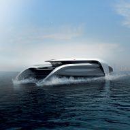 Cas Dahmen creates zero-emission hydrofoil concept