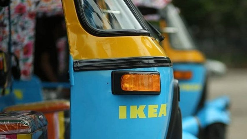 IKEA India electric rickshaws