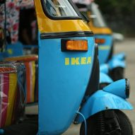 IKEA makes deliveries with electric rickshaws from first Indian store