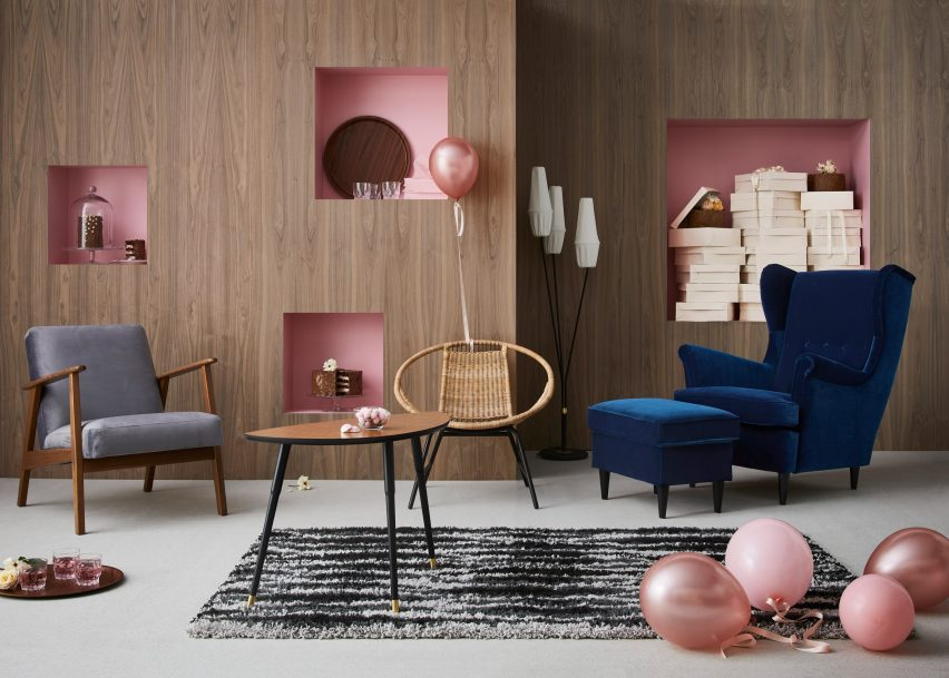 Ikea Celebrates 75th Anniversary With Vintage Furniture Collection