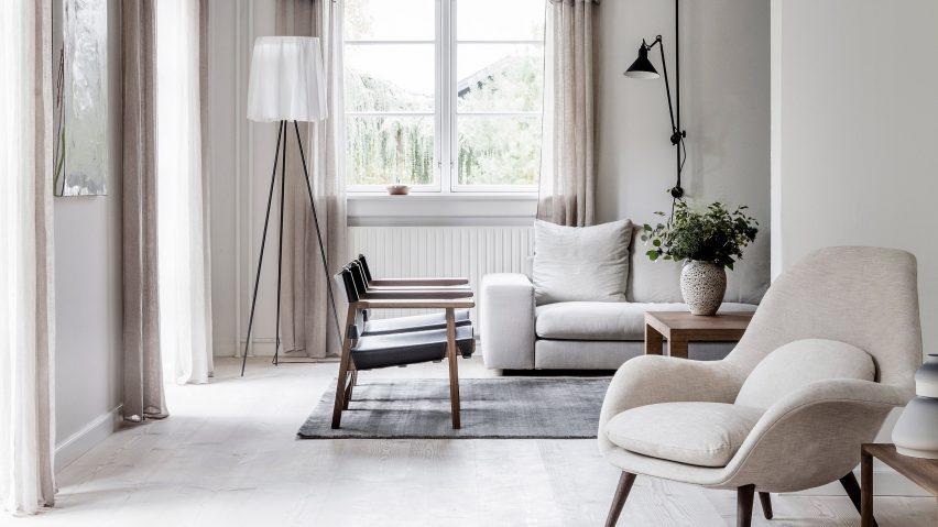 Kaja Møller's home