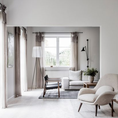 Neutral Tones Used To Create Tranquil Family Home In Copenhagen