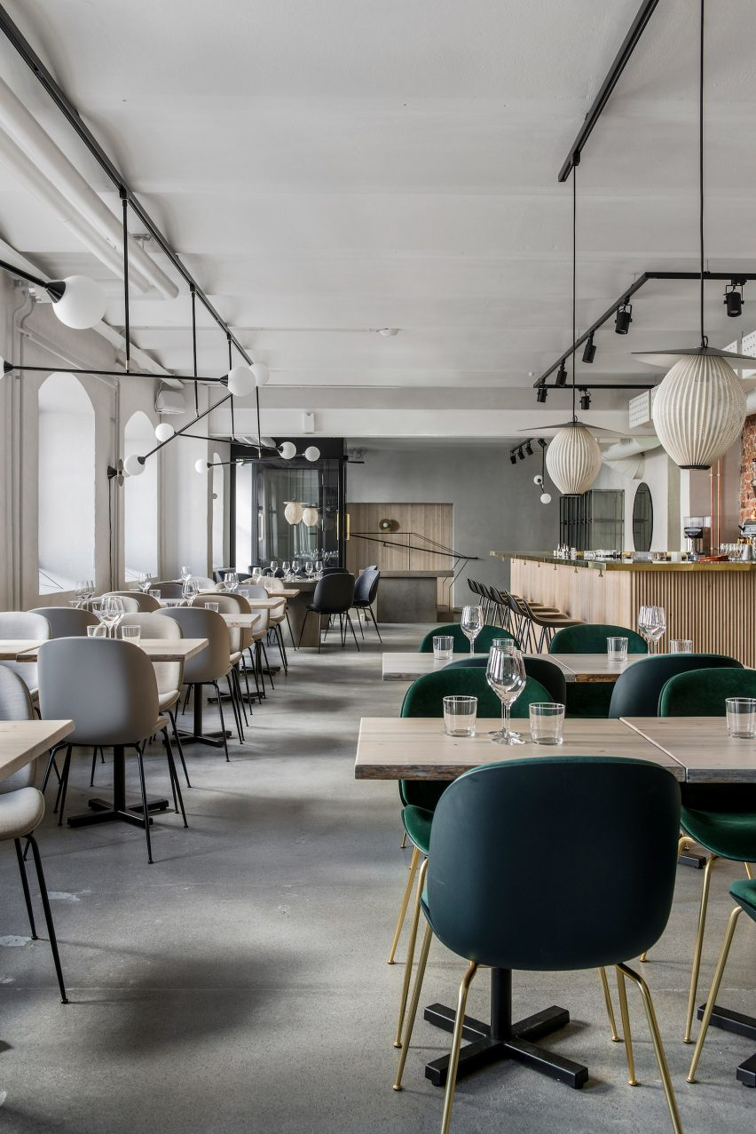 Maannos kitchen and bar by Laura Seppänen Design Agency