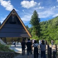 MAD transforms Kiyotsu Gorge Tunnel with mirrors, water and a spa