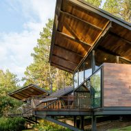 Paz Arquitectura expands Guatemala forest retreat with new living spaces and huge terrace
