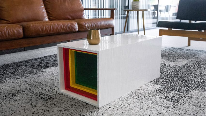 Lego Table by Yusong Zhang